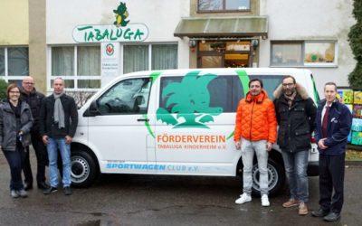 Großzügige Spenden ermöglichen Anschaffung eines Kleinbusses
